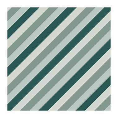 1x rollen inpakpapier/cadeaupapier strepen petrol/blauw 200 x 70 cm