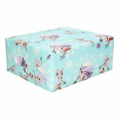 Disney inpakpapier frozen olaf 200 x 70 cm op rol