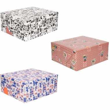 Grootverpakking inpakpapier van sinterklaas