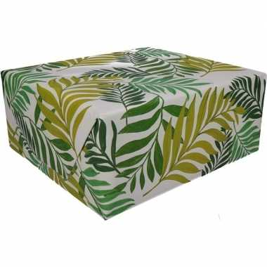 Inpakpapier urban jungle print 200 x 70 cm op rol