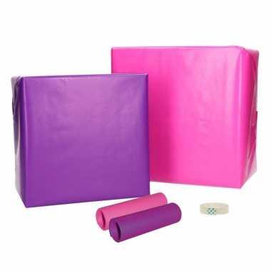 Inpakpapier voor meisjes xs pakket