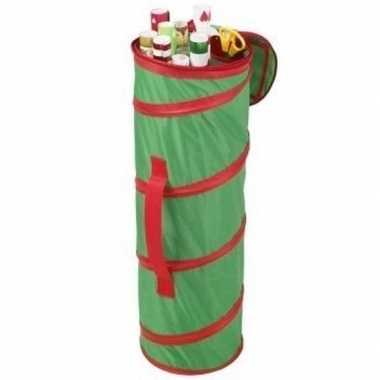Sinterklaas inpakpapier/cadeaupapier opbergtas