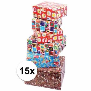 Voordelige inpakpapier sinterklaas 15x