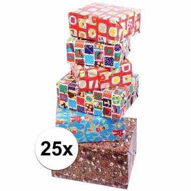 Voordelige inpakpapier sinterklaas 25x