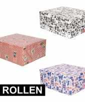 Grootverpakking inpakpapier van sinterklaas 10123371