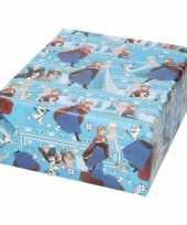 Inpakpapier cadeaupapier disney frozen elsa en anna 200 x 70 cm