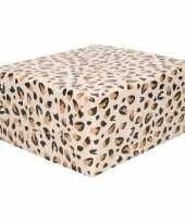Inpakpapier cadeaupapier panter luipaard print 200 x 70 cm