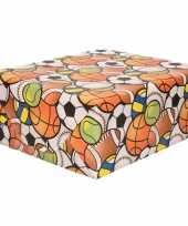 Inpakpapier kinder verjaardag ballen thema 200 x 70 cm