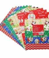 Inpakpapier vellen kerst