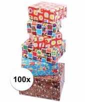 Voordelige inpakpapier sinterklaas 100x