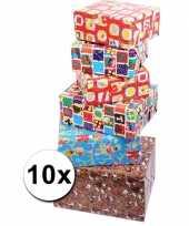 Voordelige inpakpapier sinterklaas 10x