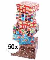 Voordelige inpakpapier sinterklaas 50x